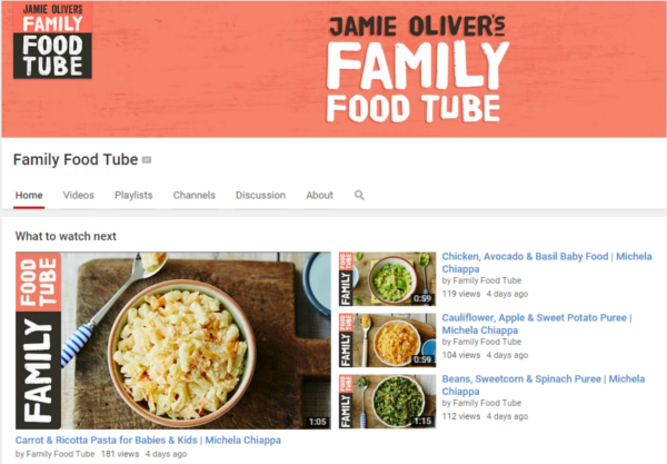 Jamie Oliver Family Food Tube