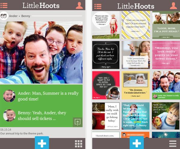 Little Hoots app