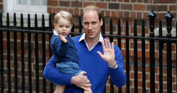 Royal Baby George and William
