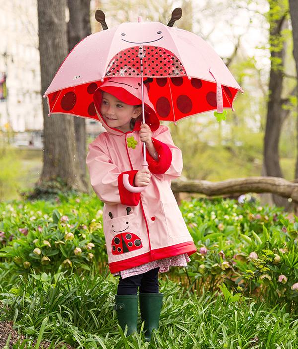 Skip Hop Zoo Raincoat Ladybug