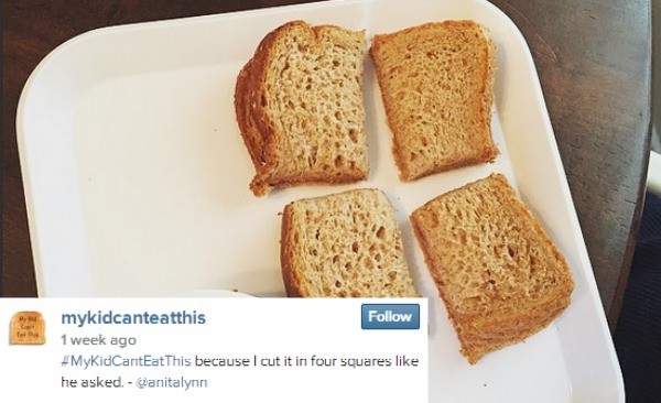 kids cant eat toast 1