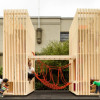 Wondrous wooden playhouses created for charity