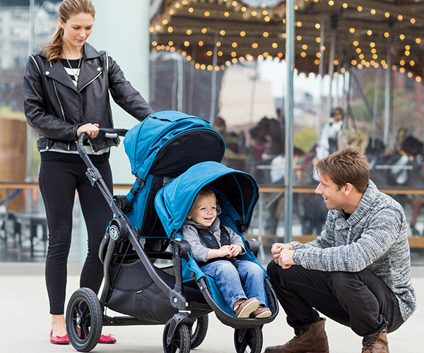Two Children No Problem With Our Double Pram Roundup