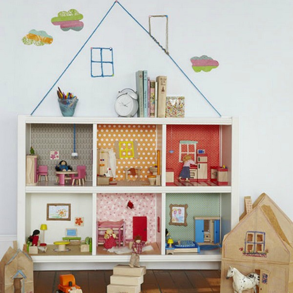 Dollhouse Bookcase Diy: Brilliant Ikea Hacks For Kids' Rooms That All Parents Need