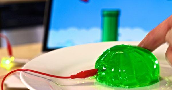 Makey Makey GO flappy jello