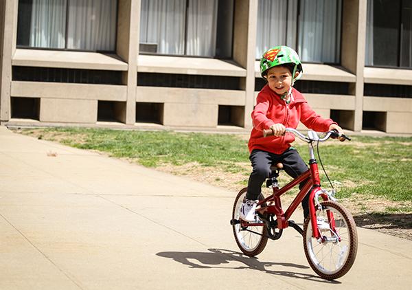 Priority Start kid riding