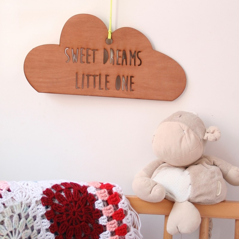 Scamp personalised wooden mobiles