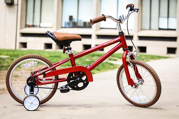 Priority Start red bike