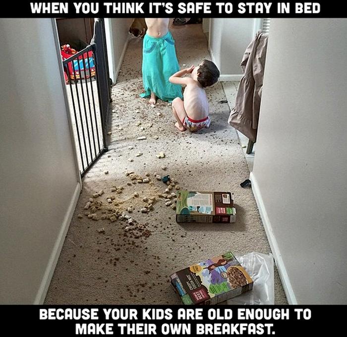 More average parent problems that sum up your life - hilarious parenting photos