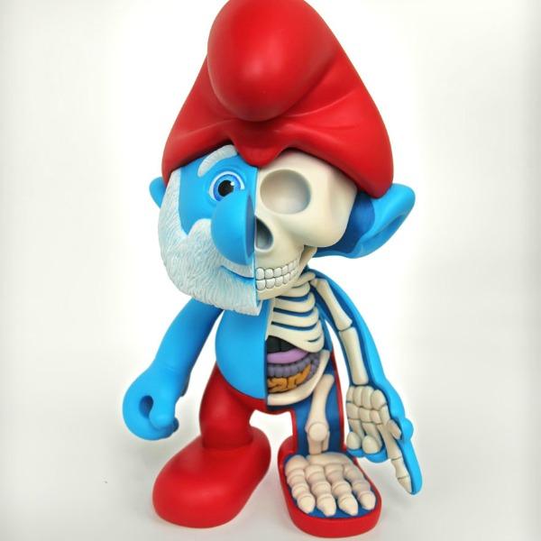 bones papa smurf