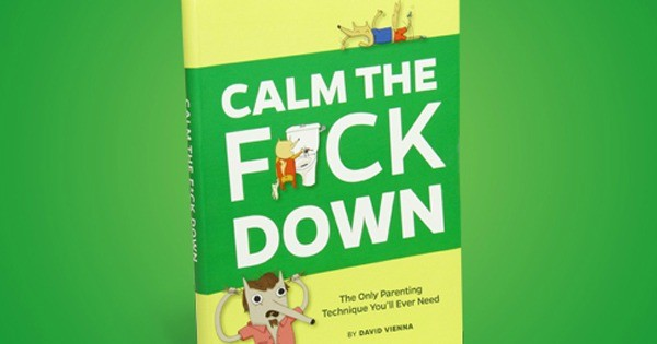 calm the fuck down fb cover