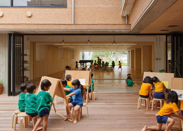 the stunning japanese kinder designed to withstand typhoons. Black Bedroom Furniture Sets. Home Design Ideas