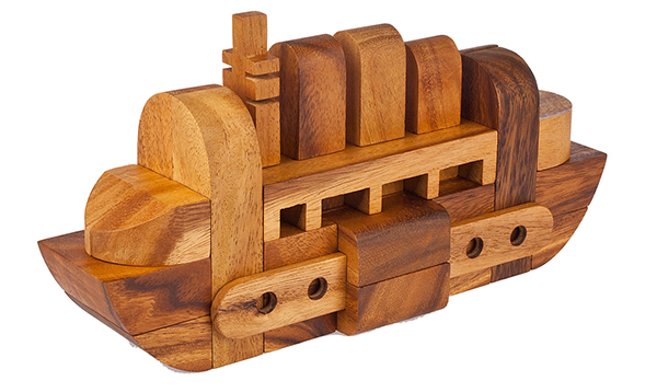 Fathers Day Etsy Boat Puzzle