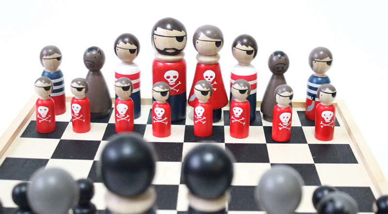 Fathers Day Etsy Chess Set