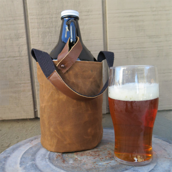 Fathers Day Etsy Growler Carrier