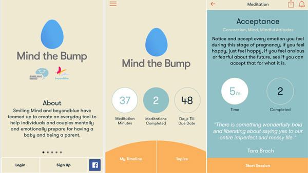 Mind the Bump app
