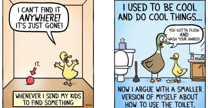 comics about parenthood