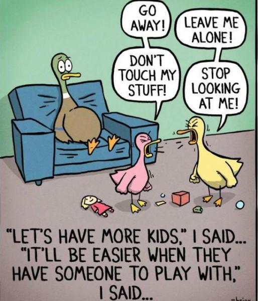 comic siblings