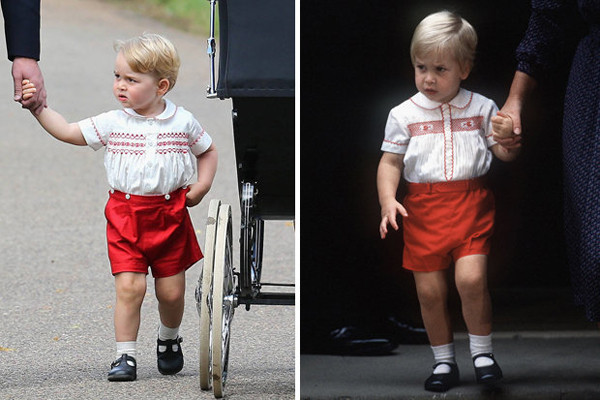 prince-george-prince-william-red-shorts