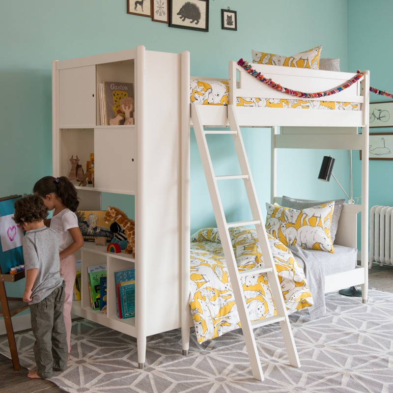 New Mid Century Kids Bedroom Furniture Collection From