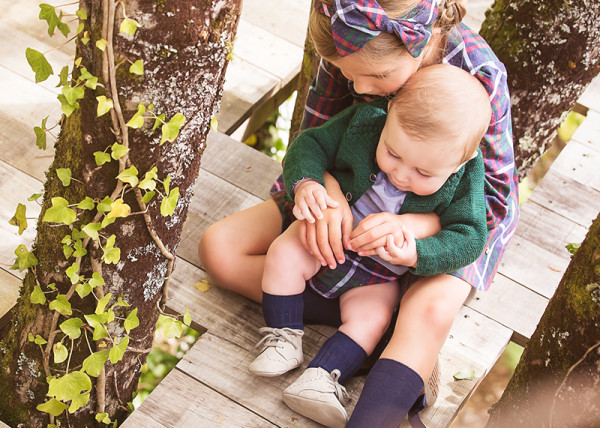 Pili Carrera Girl and Baby