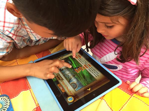 Safari Tales - kids playing