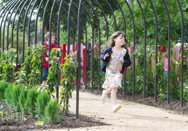Bendigo Botanic Gardens play space