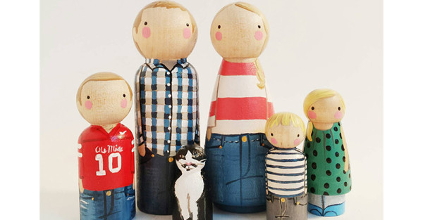 peg family personalised