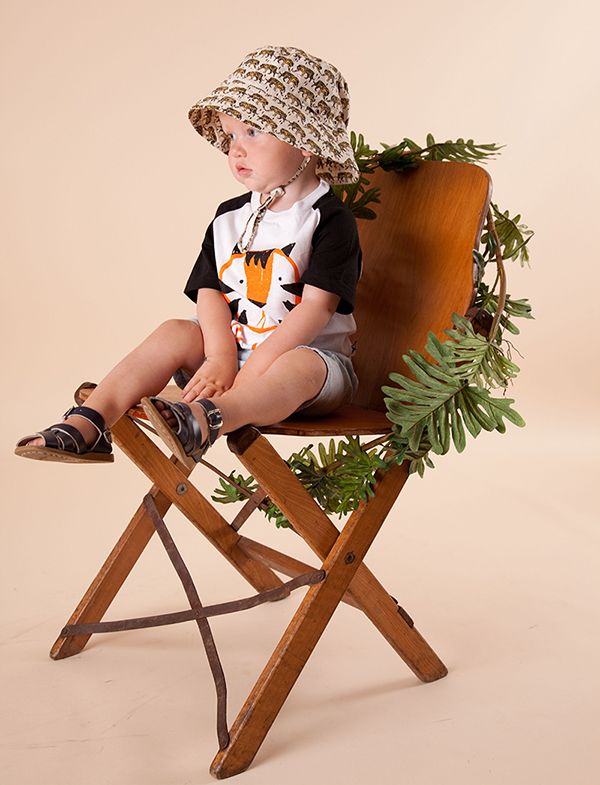 Acorn boys tiger hat 1
