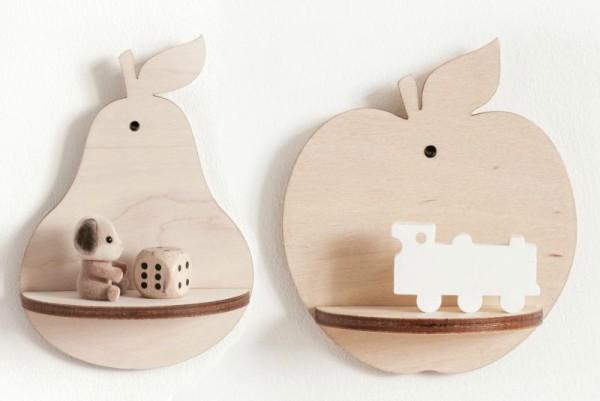 Apple Pear shelf