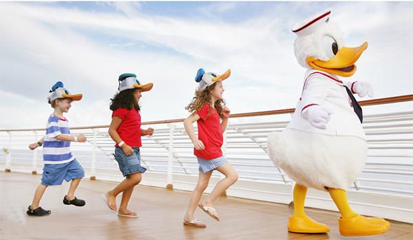 Disney Cruise Donald Character