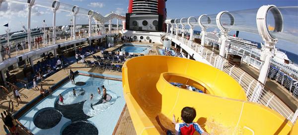 Disney Cruise Mickey Pool