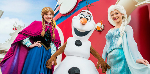 Disney Cruise Frozen Deck Party