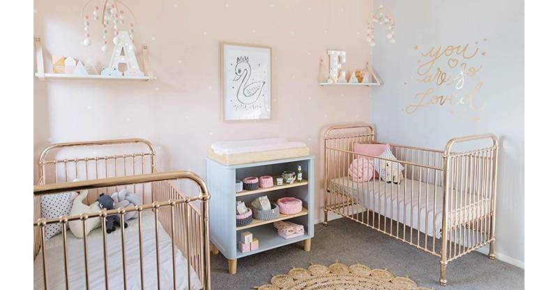 Habitación infantil 2 cunas