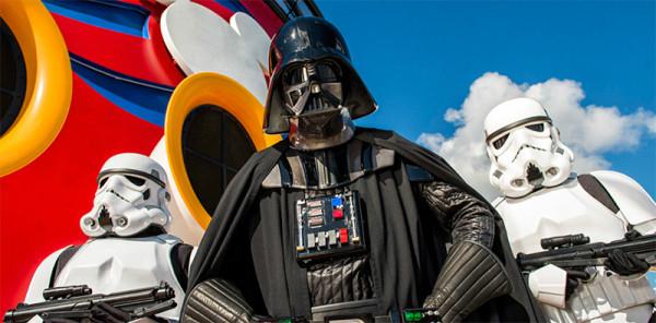 Disney Cruise Star Wars Deck Party