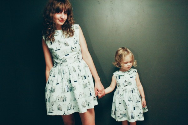 OffOn Mother and Daughter dresses