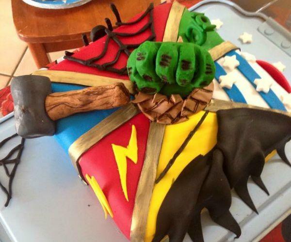 avenger cake 1