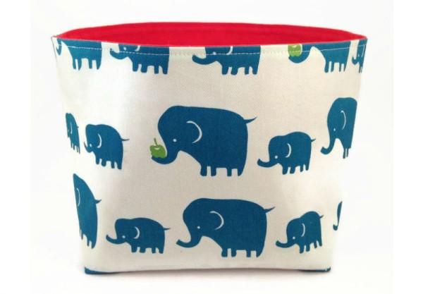 elephant storage basket
