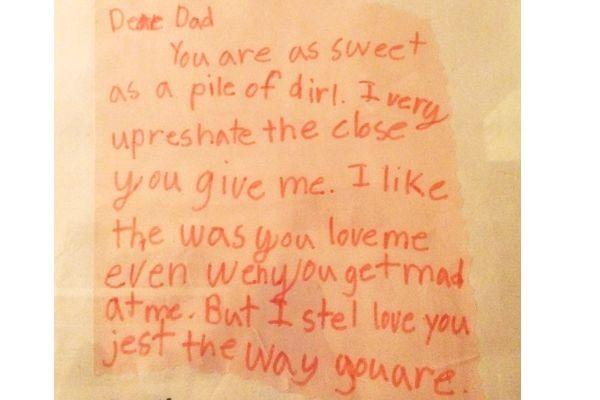 fathersdaycard dirt