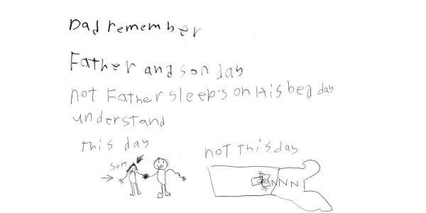 fathersdaycard sleep