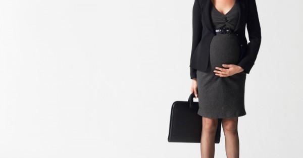 pregnant working mum