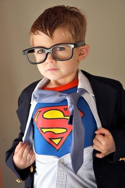 Clark kent DIY halloween costume