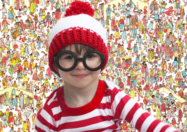 Where's Wally DIY Halloween costume