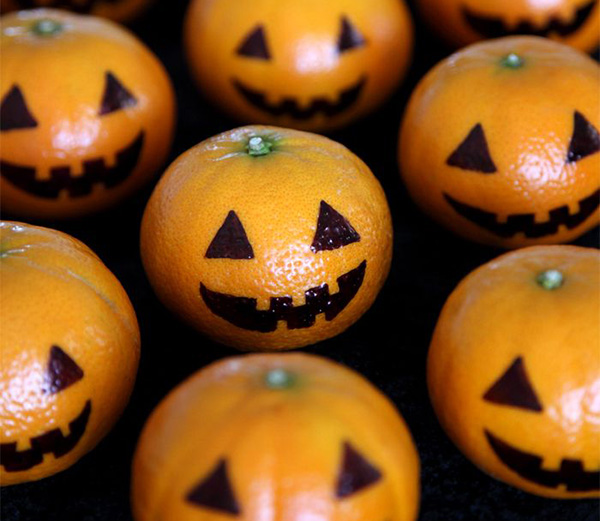 Halloween-mandarins