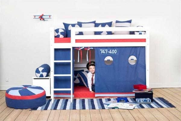 Hoppekids aeroplane bed