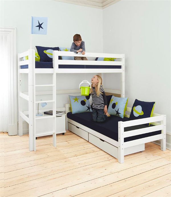 Hoppekids space bed