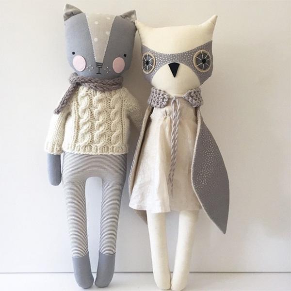 Luckyjuju-kitty-and-owl
