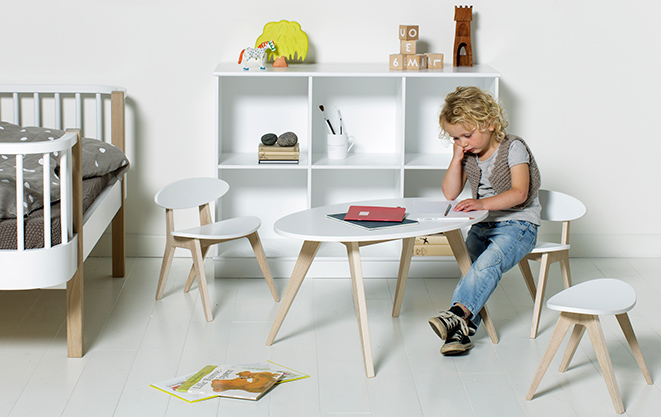 Pingpong Kids Table And Chairs From Oliver Furniture