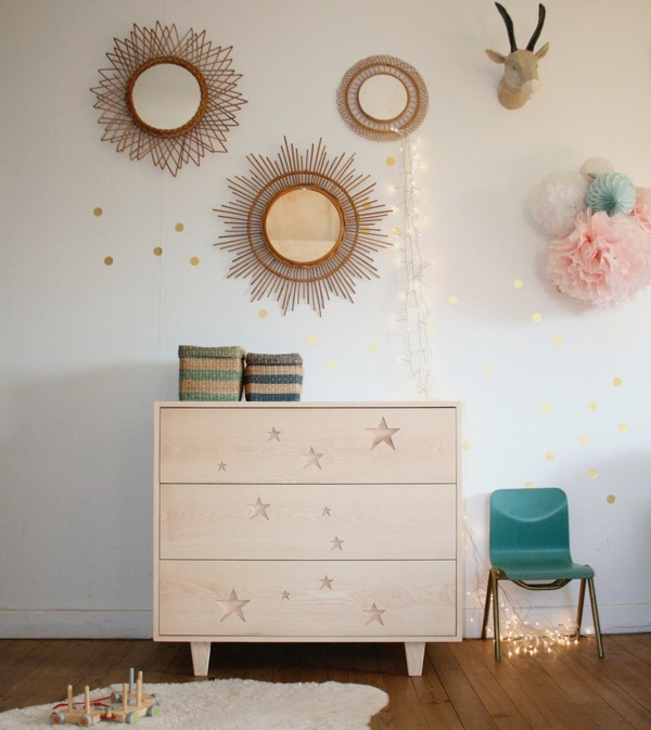 Creme Anglaise chest of drawers