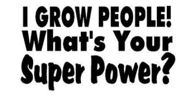 grow people super hero
